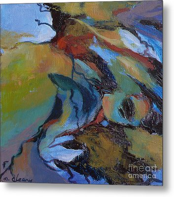 Ripples No. 7 Metal Print by Melody Cleary