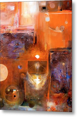 Metal Print featuring the painting Rise And Shine 1 by Brooks Garten Hauschild