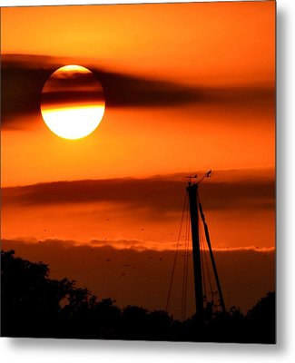 Metal Print featuring the photograph Rise And Shine by Deena Stoddard