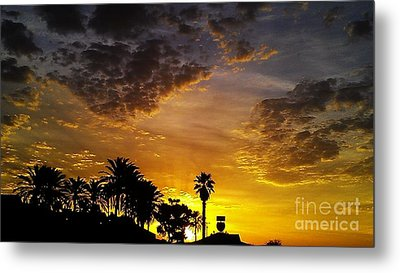 Rise Metal Print by Chris Tarpening