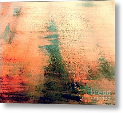 Metal Print featuring the painting Rise by Jacqueline McReynolds