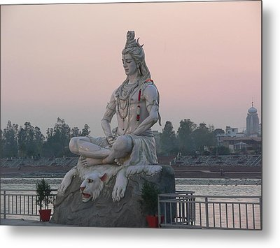 Metal Print featuring the photograph Rishikesh by Geeta Biswas
