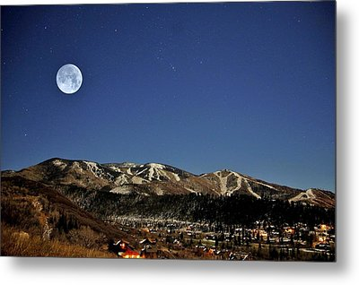 Rising Moon Metal Print by Matt Helm
