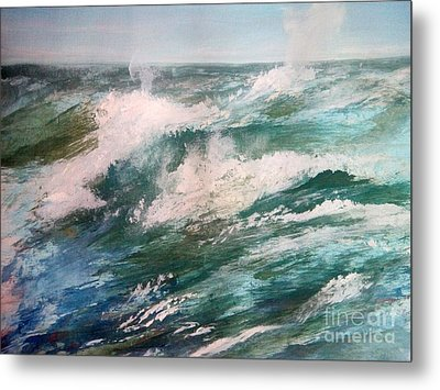 Rising Spume Metal Print by Trilby Cole