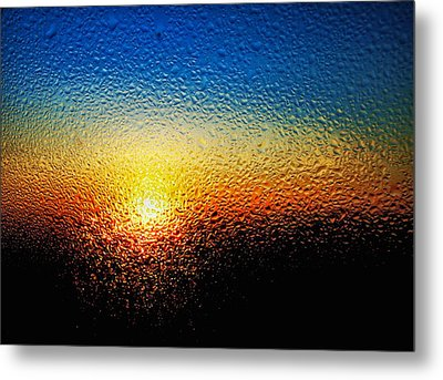 Rising Sun Metal Print by Tom Druin