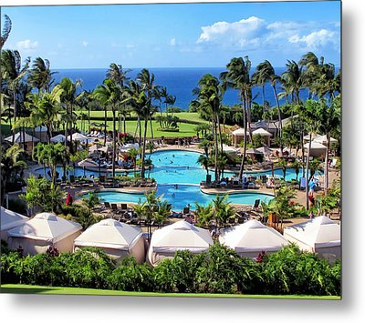 Ritz Carlton 17 Metal Print