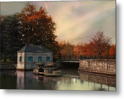 River Antiquity Metal Print by Robin-Lee Vieira