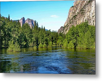 Yosemite National Park Metal Print by Menachem Ganon
