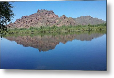 River Metal Print by Beth Smith