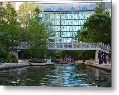 Metal Print featuring the photograph River Boating  by Shawn Marlow