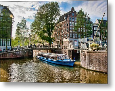 River Cruise Metal Print by Brent Durken