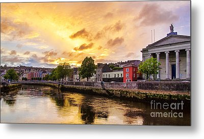 River Lee In Cork Metal Print