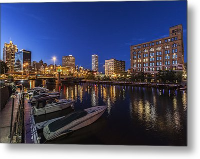 River Nights Metal Print