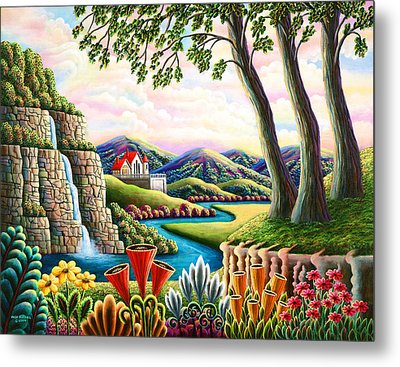 River Of Dreams 3 Metal Print by Andy Russell