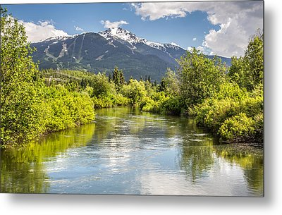 River Of Golden Dreams Metal Print by Pierre Leclerc Photography