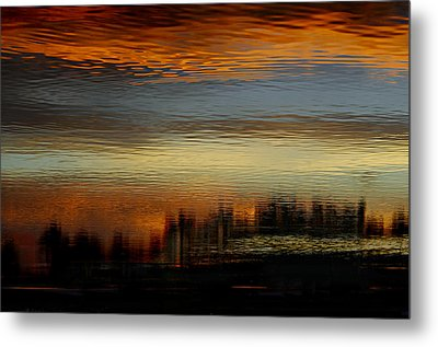 River Of Sky Metal Print by Laura Fasulo