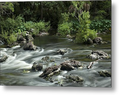 River Rapids Metal Print by Robert Anderson