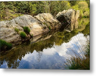 River Reflections IIi Metal Print by Marco Oliveira