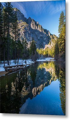 River Reflections Metal Print