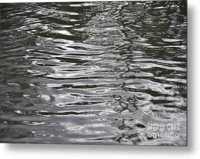 River Ripples Metal Print