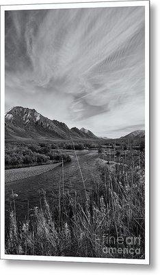 River Serenity Metal Print by Priska Wettstein