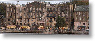 River Street Savannah Metal Print