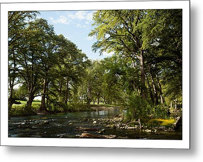 River Time Metal Print