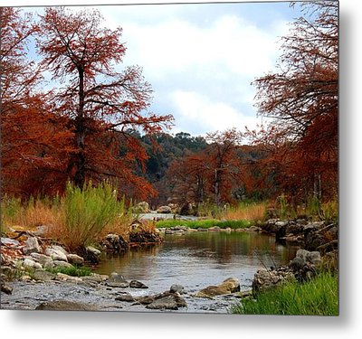 Metal Print featuring the photograph River Tranqulity by David  Norman