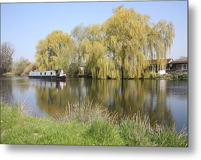 River Transport Metal Print by Mark Severn