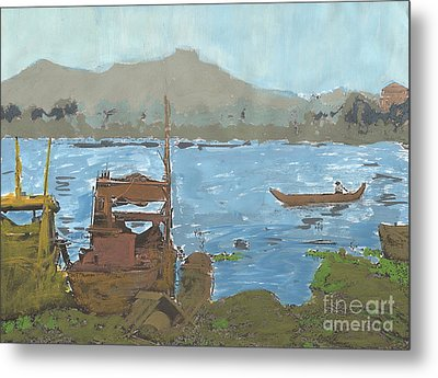River View Metal Print by Brandy Magill
