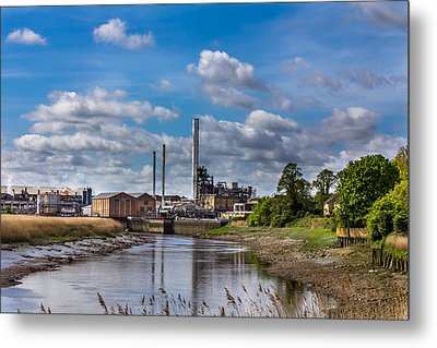 River View. Metal Print by Gary Gillette