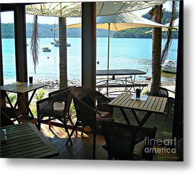 Metal Print featuring the photograph River View by Leanne Seymour