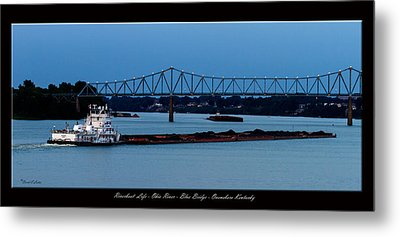 Riverboat Life Metal Print