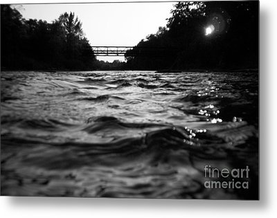 Metal Print featuring the photograph Rivers Edge by Michael Krek