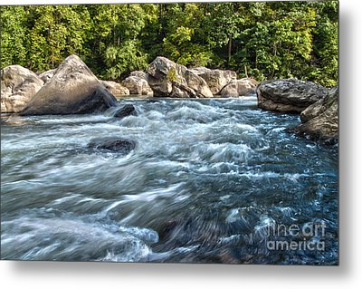 Rivers End Rapid On The Lower Yough Metal Print