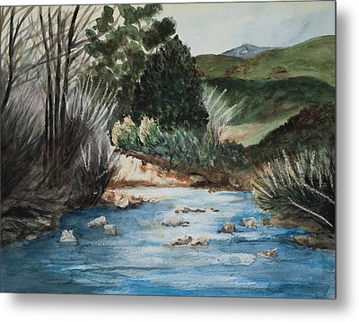 Riverscape Metal Print
