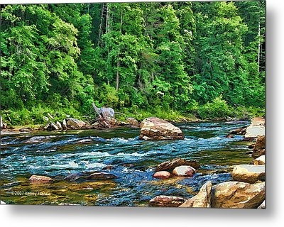 Riverview Metal Print by Kenny Francis