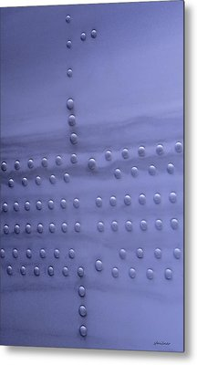 Metal Print featuring the photograph Riveting by Steven Milner