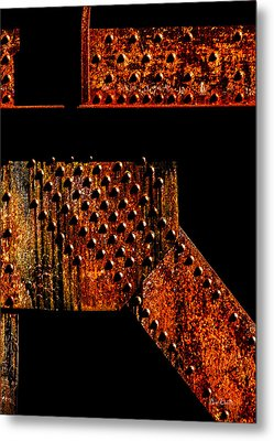 Rivets Number Two Metal Print by Bob Orsillo