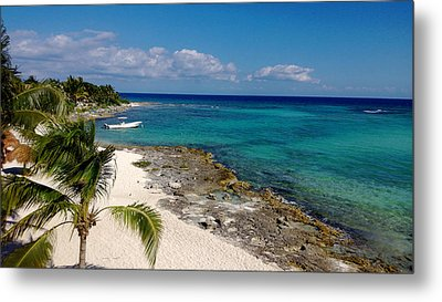Riviera Maya Metal Print by Terry Eve Tanner