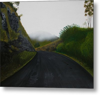 Road Near Gresford Nsw Metal Print