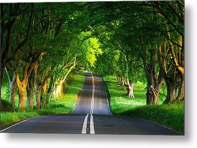 Metal Print featuring the digital art Road Pictures by Marvin Blaine