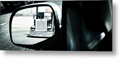 Aaron Berg Metal Print featuring the photograph Road Rage by Aaron Berg