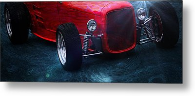 Classic Car Metal Print featuring the photograph Road Rod  by Aaron Berg