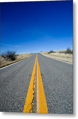 Road Through Sulphur Flats Metal Print by Jim DeLillo