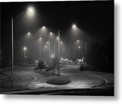 Road To Enlightenment Metal Print by Christopher McKenzie