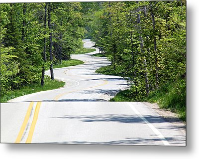 Road To Northport Metal Print by Kathy Weigman