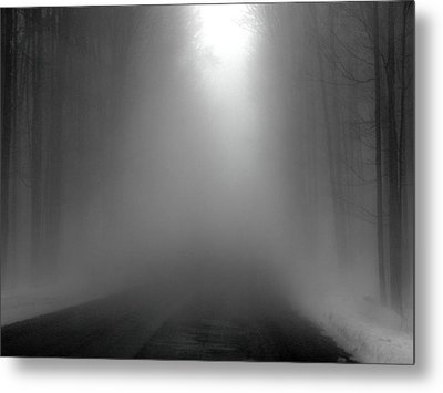 Road To Nowhere Metal Print by Anthony Thomas