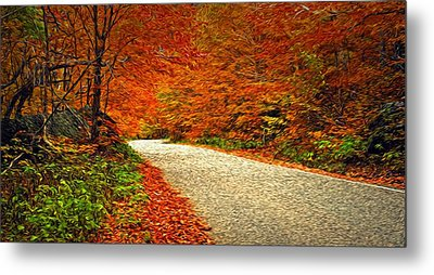 Road To Nowhere Metal Print by Bill Howard