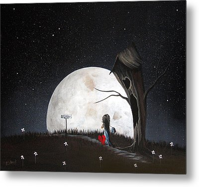 Surreal Art Prints By Erback Metal Print by Shawna Erback